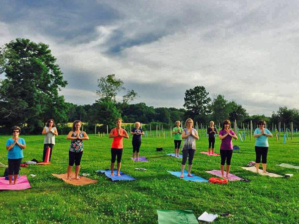 Sharon James Cellars Yoga