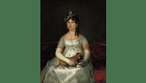 Doña Francisca Vicenta Chollet y Caballero1806 Goya