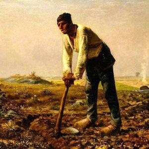 Jean-Francois Millet, Man with a Hoe