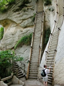 Difficult stairs