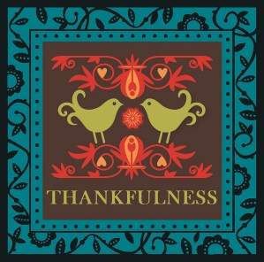 I struggled to be thankful amidst the brokenness around me...