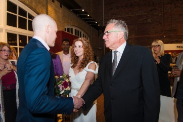 Ceremony - Jewish Wedding - Offbeat Bride - St.Lawrence Market Wedding - Toronto Wedding Photographer