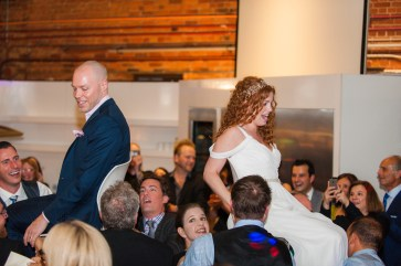 Candid - Reception - Horah - Jewish Wedding - Offbeat Bride - St.Lawrence Market Wedding - Toronto Wedding Photographer