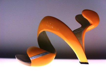 hakes orange mojito shoe