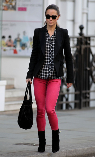 pippa middleton red jeans