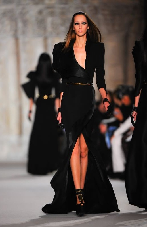 Stéphane Rolland Couture 2012 black dress