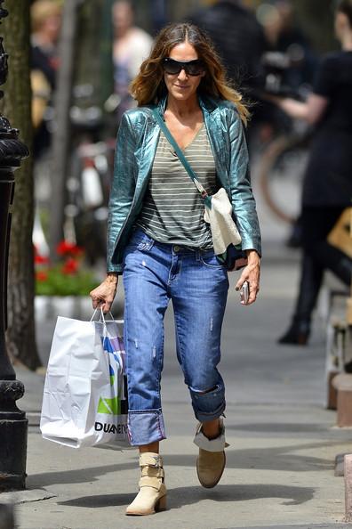 sarah Jessica Parker new york Duane Reade