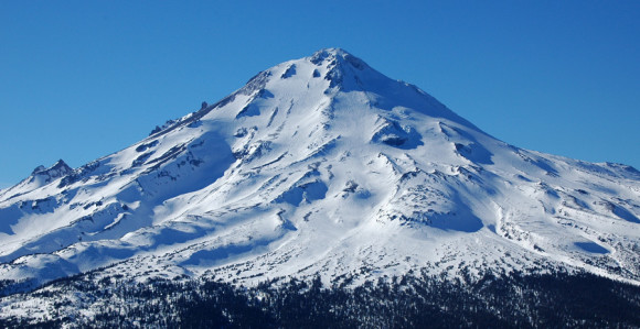 Mount Shasta, Eastside view.
