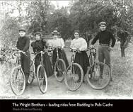 Redding's Wright Brothers regularly led rides from Redding to Palo Cedro. (Photo courtesy of the Shasta Historical Society.)