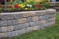 Small Of Easy Garden Wall