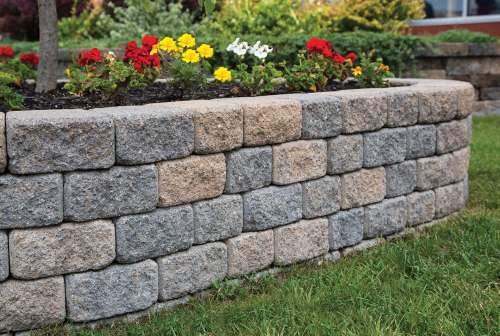 Medium Of Easy Garden Wall