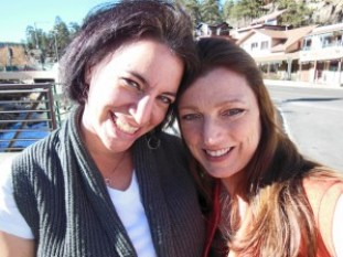 Dafna Jenet and Shawna Coronado