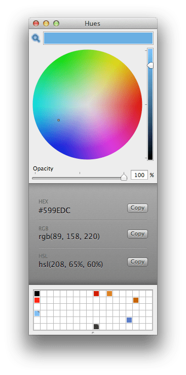 Hues Color Picker for OS X