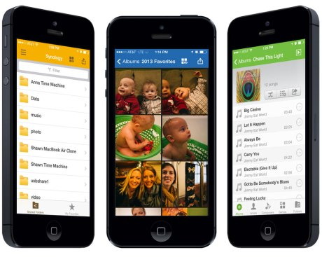 The Synology iOS Apps