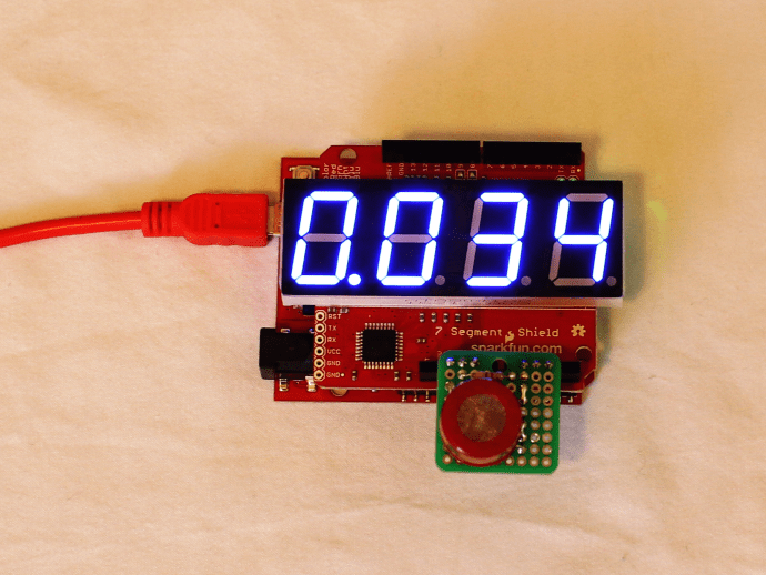 DIY BAC sensor and display