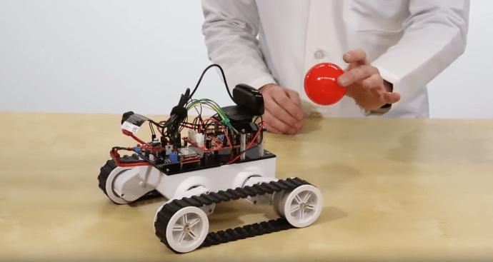 Robots love balls