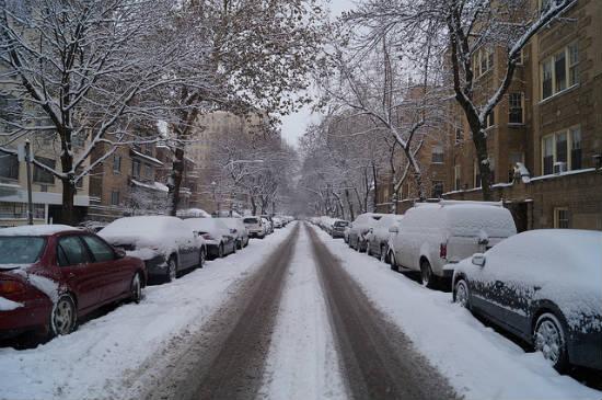 BPO 2013 Winter on Wellington Avenue Chicago