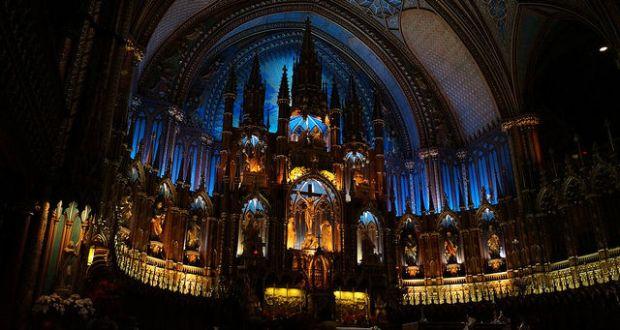 Notre Dame de Montreal inside