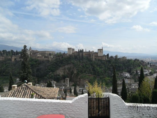 The Alhambra from Albayzin Granada