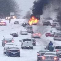 South Mistakes 4 Inches of Snow for End Times - 10 Driving Safety Tips