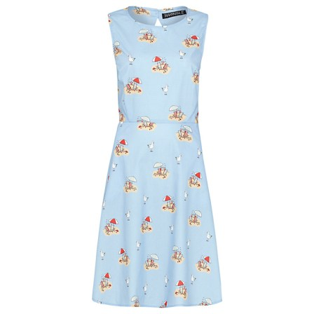 Double Thumbs Dresses #78 | Hartley Beach Scene Cotton Dress £49 from Sugarhill Boutique at John Lewis
