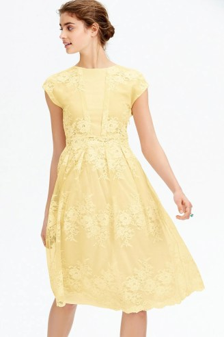 Double Thumbs Dresses #80 | Yellow Lace Dress £70 from Next