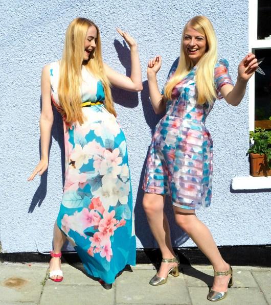 She and Hem | House of Fraser | Pink or blue?
