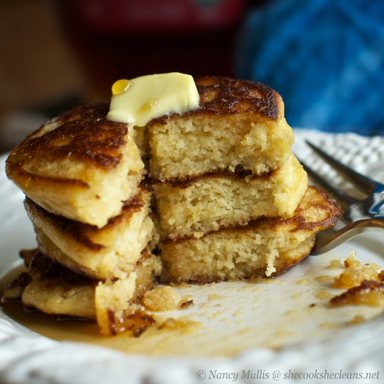 Paleo Gluten-Free Fluffy Pancakes