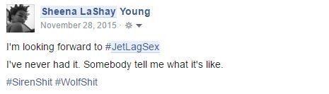 Jet Lag Sex - SheenaLaShay.com