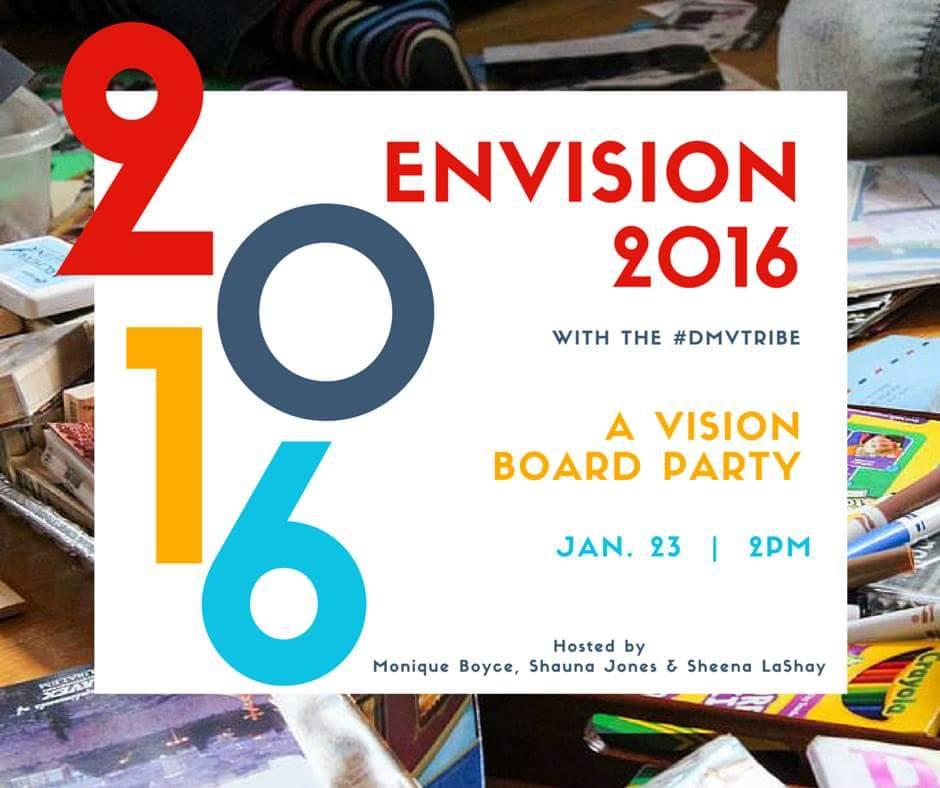 Envision 2016 Vision Board Workshop