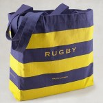 Organic Match Eco-Tote, Rugby, $12
