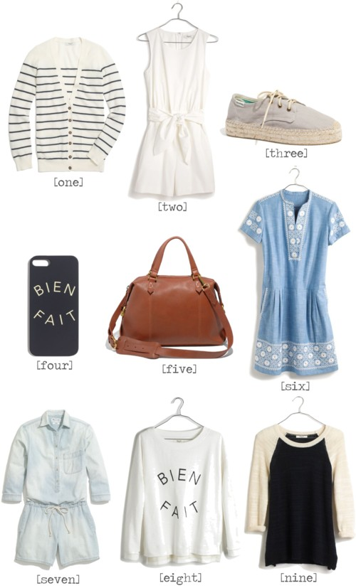 Madewell Summer Sale