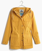 Yellow Anorak Rain Coat