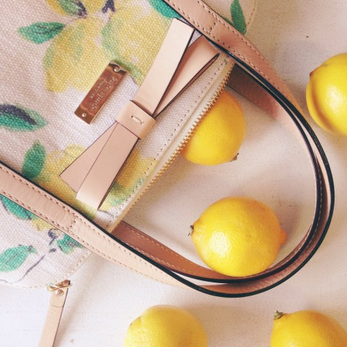 Kate Spade Lemon Bag