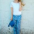 Floral Beach Pants
