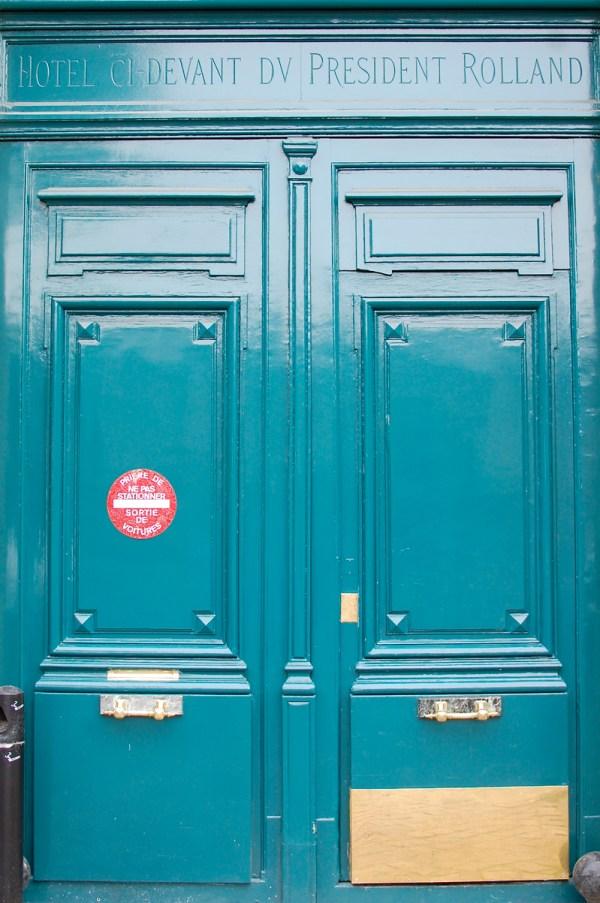 Green Door Paris