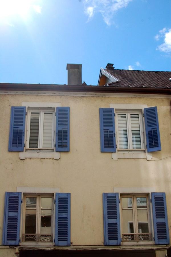 Blue Shutters France