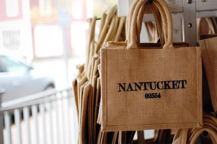 nantucket sip code jute bags