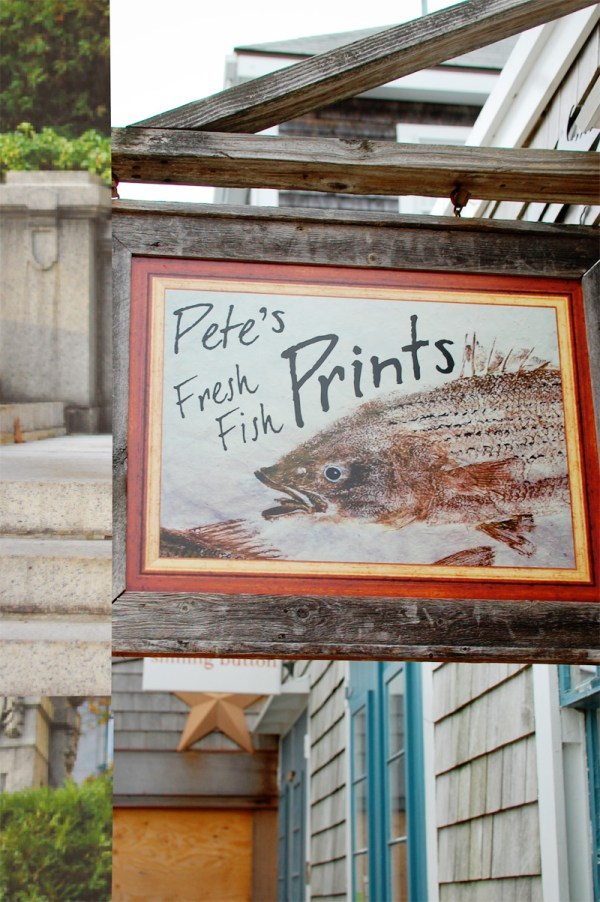 Pete's Fresh Fish Prints