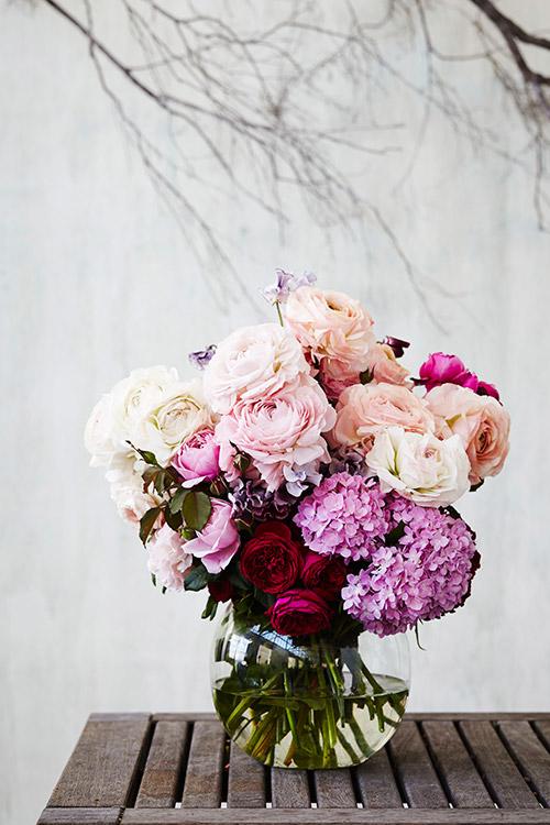 Winter Peony Bouquet