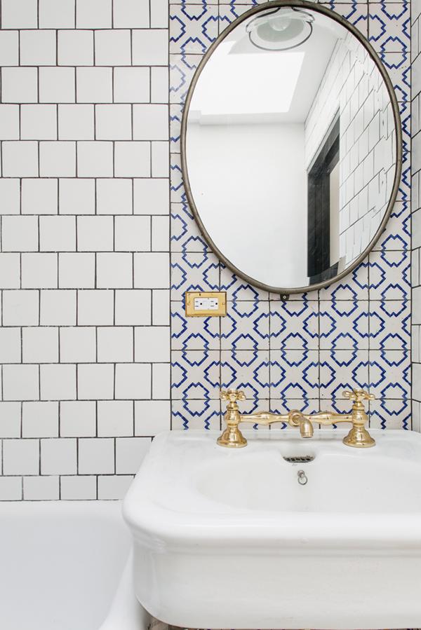 Tic Tac Tile Home Reno Moroccan Tile Flooring and Backsplash