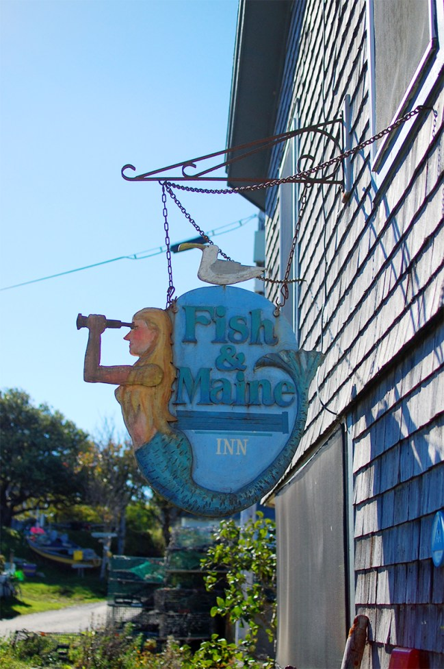 Fish & Maine Monhegan