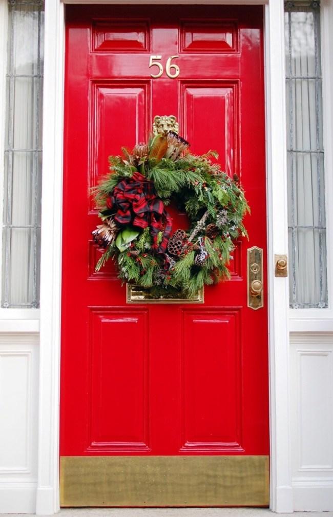 red door beacon hill christmas