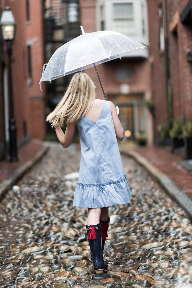 joules bow back rain boots
