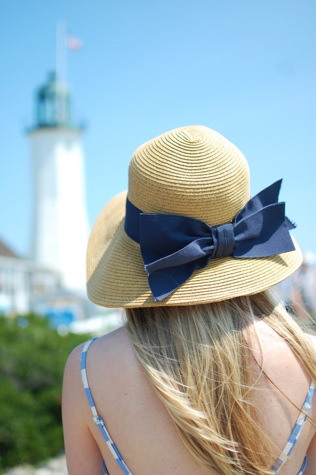 tuckernuck navy bow hat