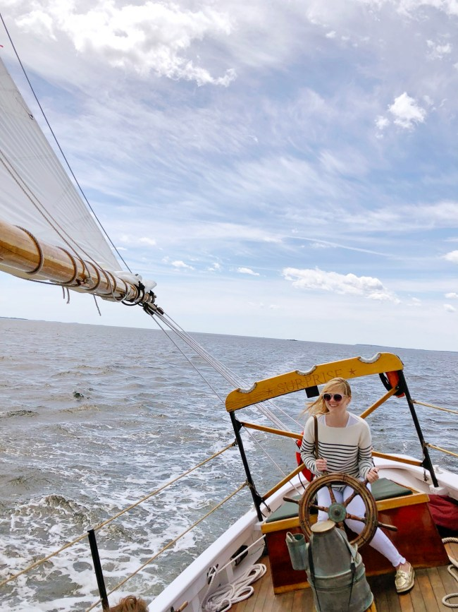 camden maine sailing day trips