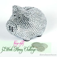 {52 Week Money Challenge} The Easiest Way to Save $1,000+