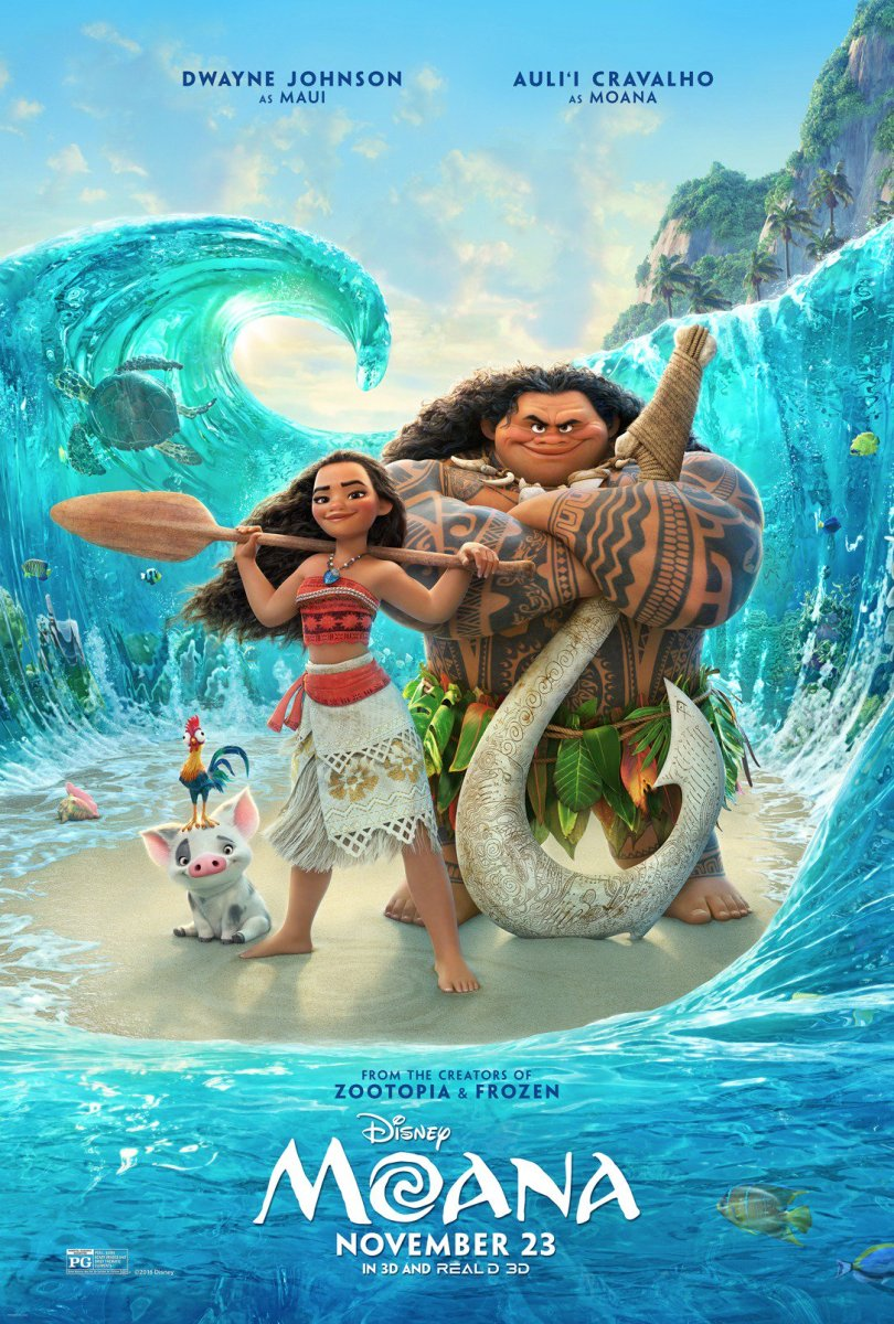 Moana - Movie Discussion
