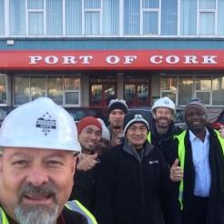 Port of Cork with Seamen
