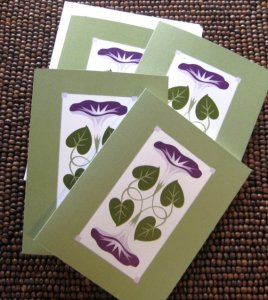 Morning Glory Cards